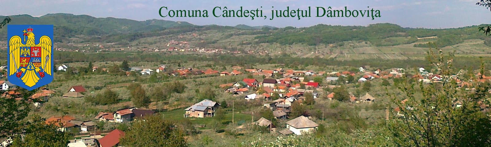 Primăria Comunei Cândești, județul Dâmbovița